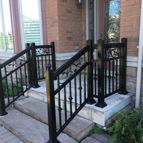 aluminum railings toronto