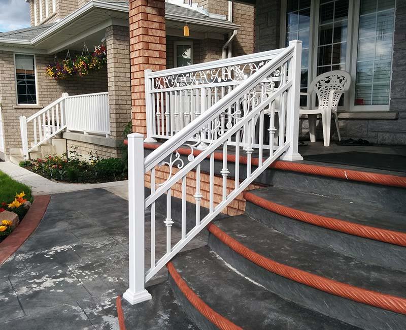 aluminum railings markham
