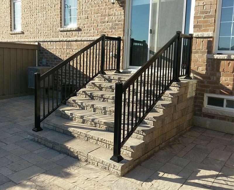 decorative aluminum railings