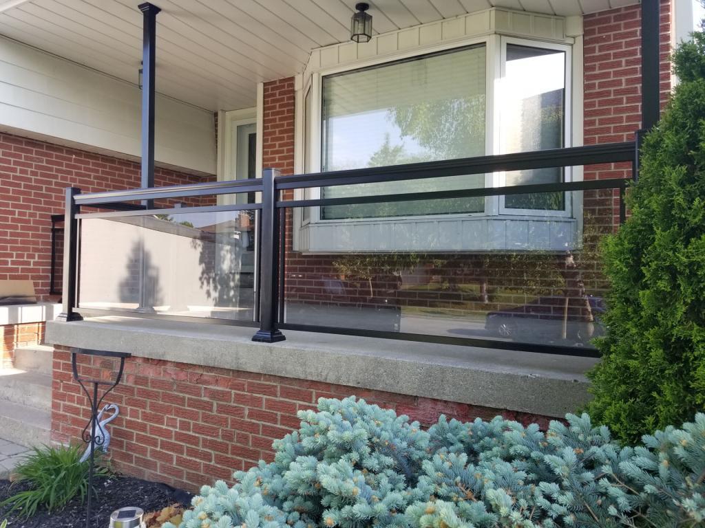 Aluminum Porch Railings 2