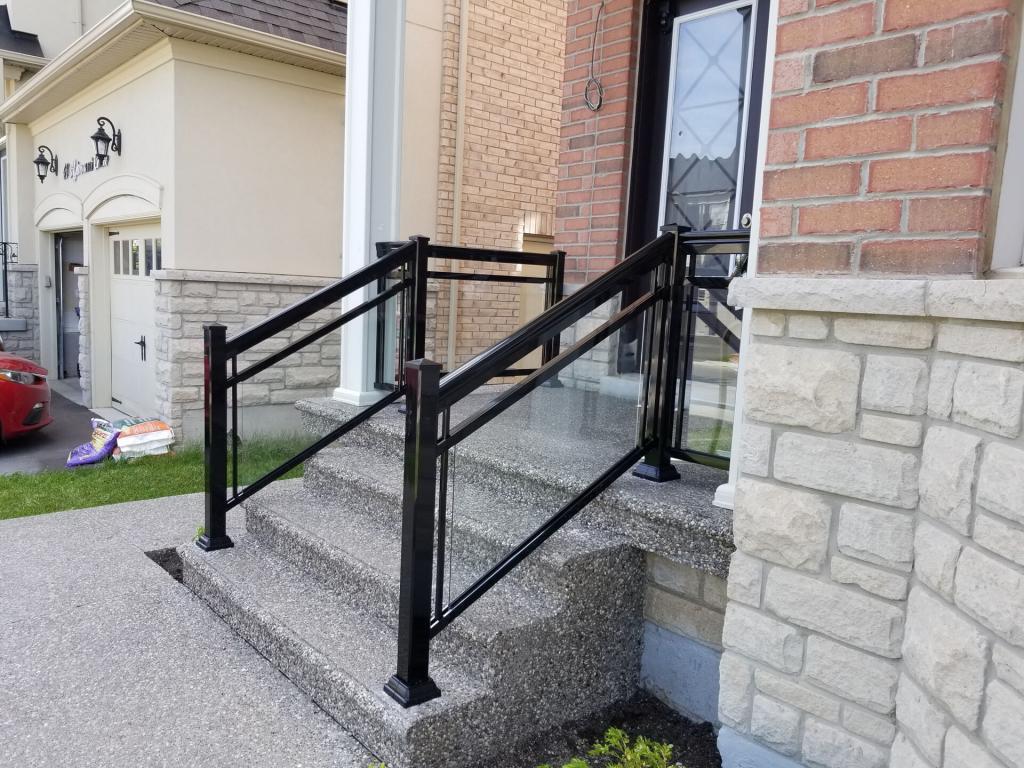 Aluminum Balcony & Stair Railings 1