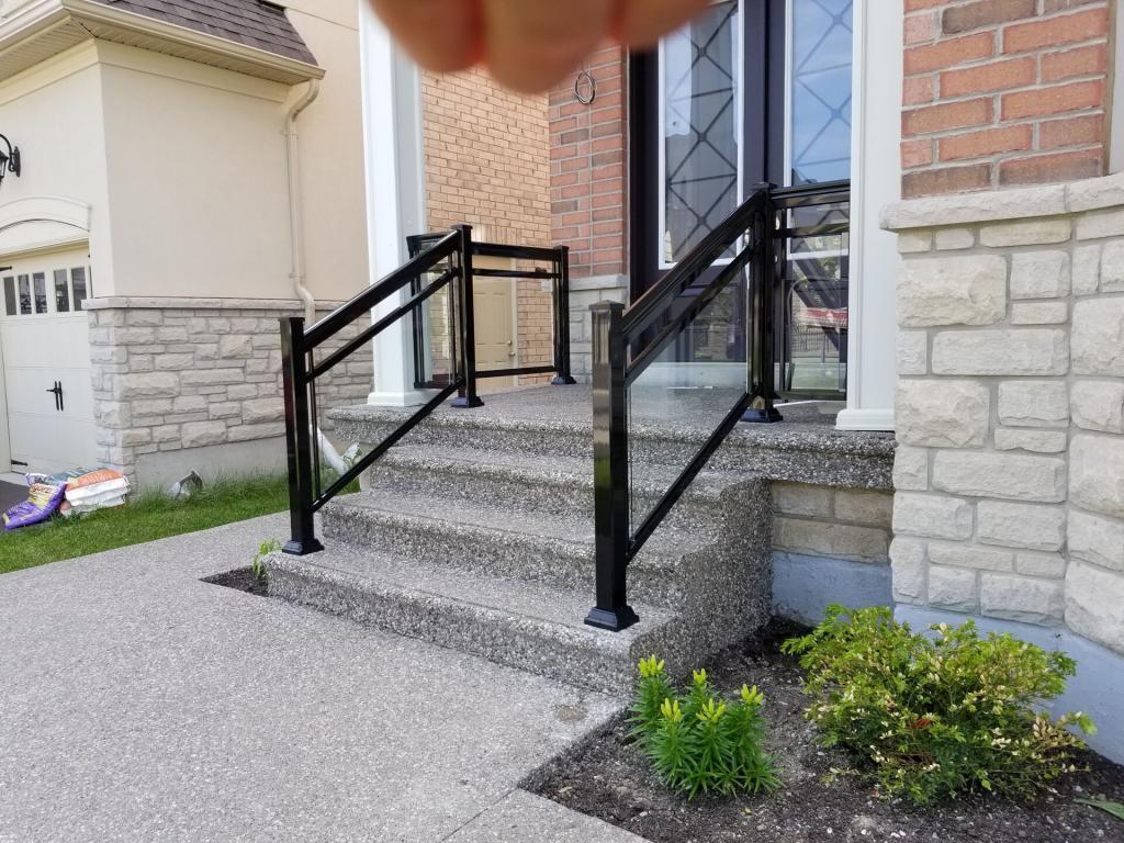 Aluminum Porch Railings 4