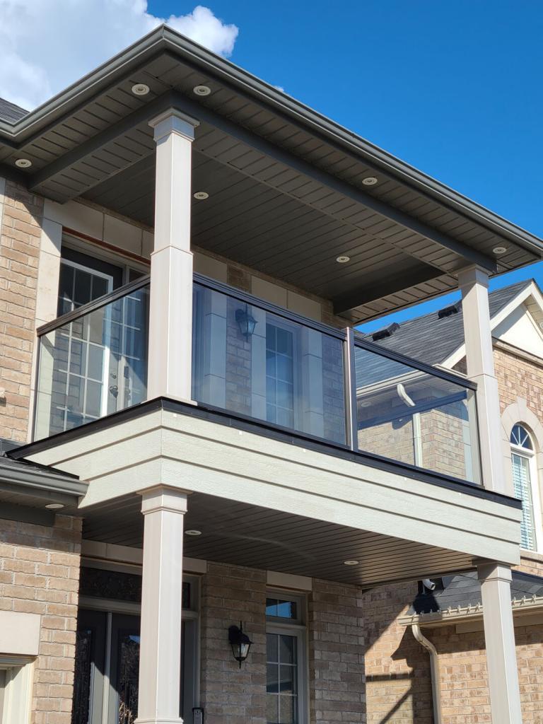 Aluminum Balcony & Stair Railings 2
