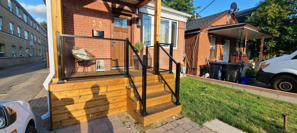 Aluminum Porch Railings 5