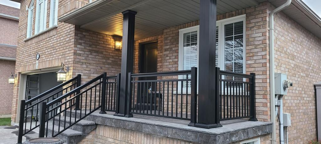 Aluminum Porch Railings 6