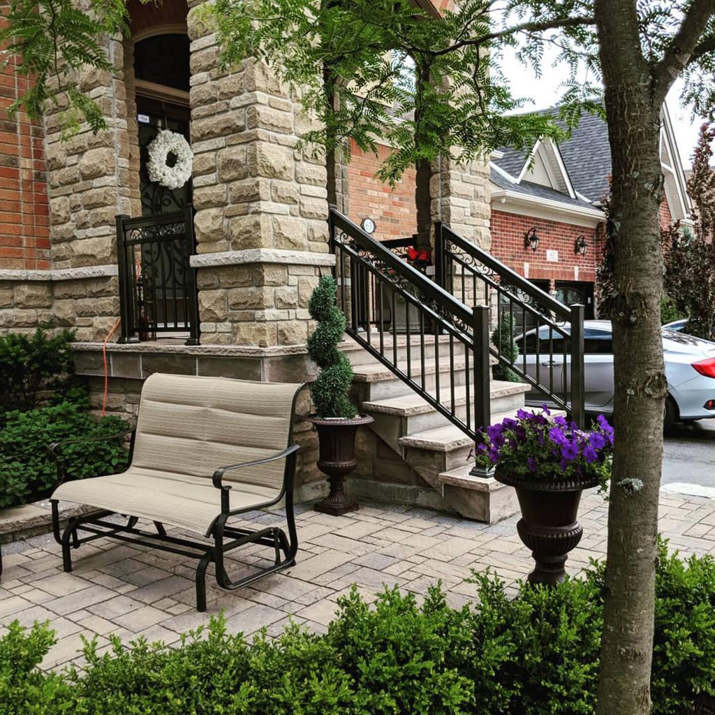 Aluminum Porch Railings 7