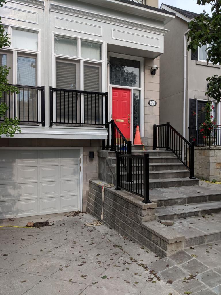 Aluminum Balcony & Stair Railings 7
