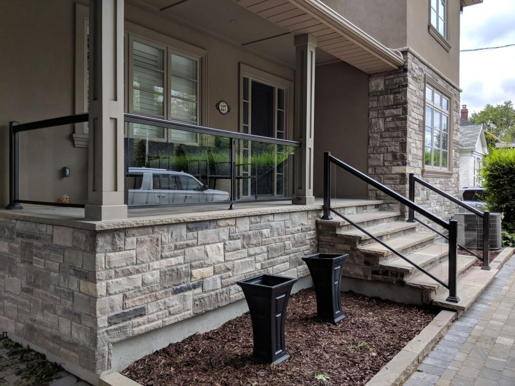 Aluminum Porch Railings 10