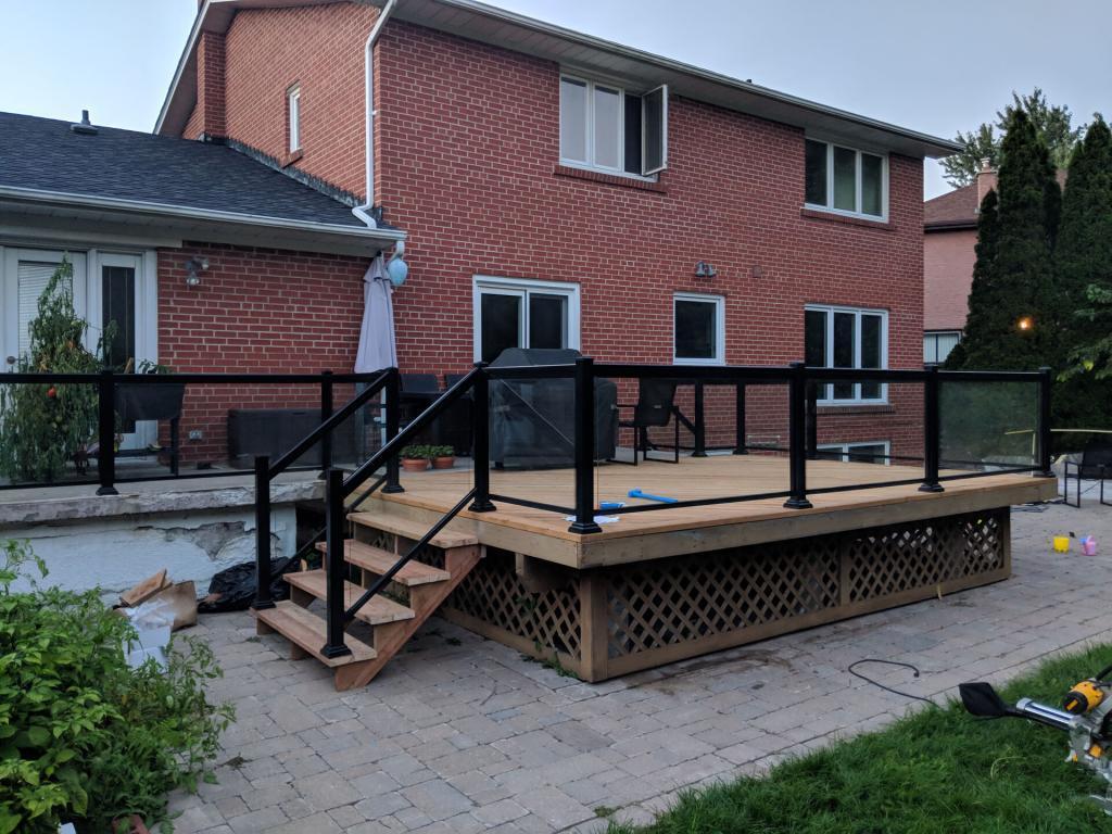 Aluminum Deck Railings 1