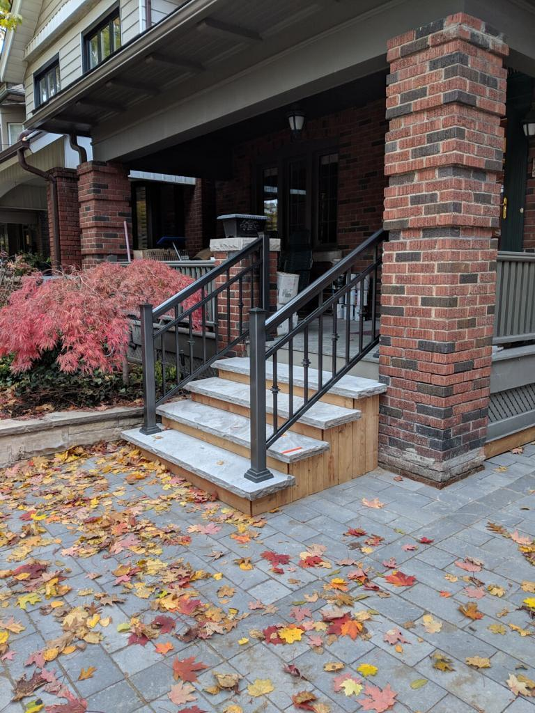 Aluminum Porch Railings 11
