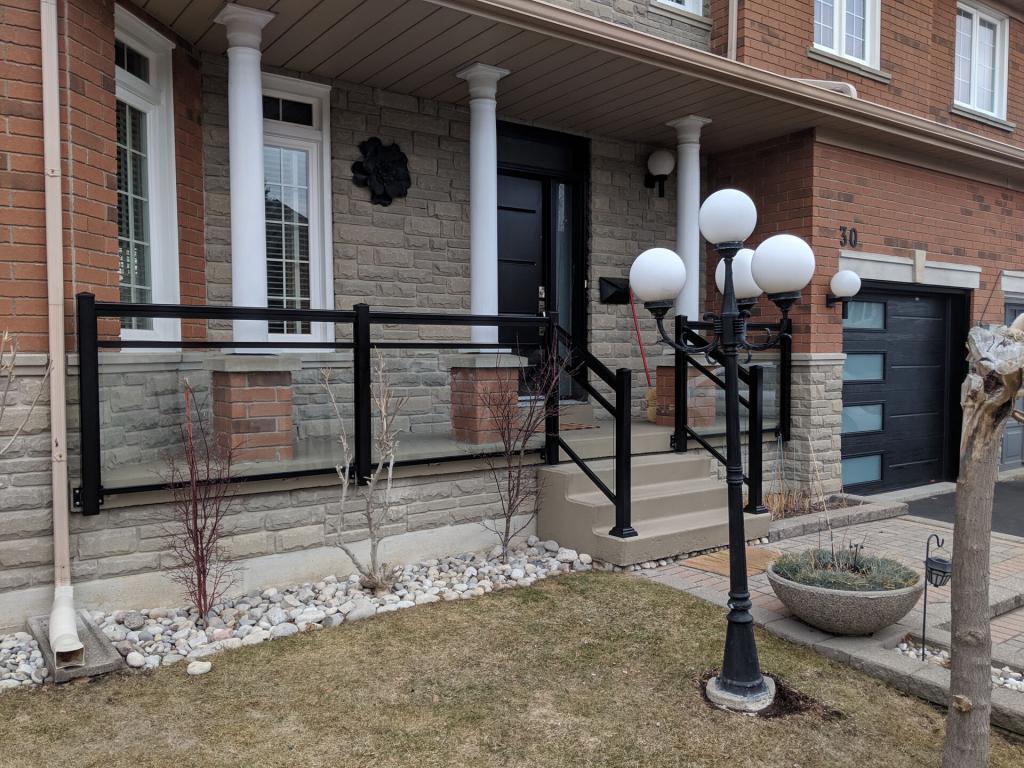 Aluminum Porch Railings 13